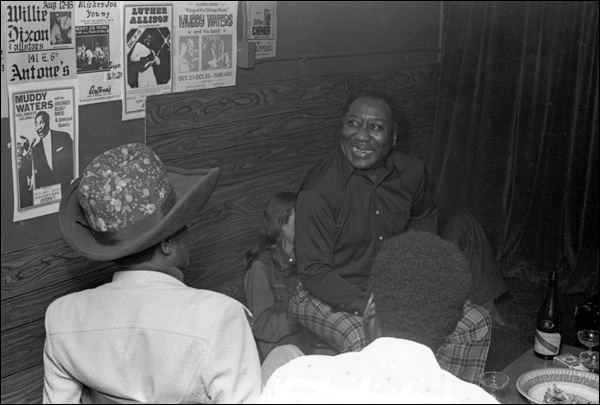 Junior Wells, Muddy Waters & Buddy Guy
