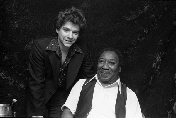 Jimmie Vaughan and Muddy Waters