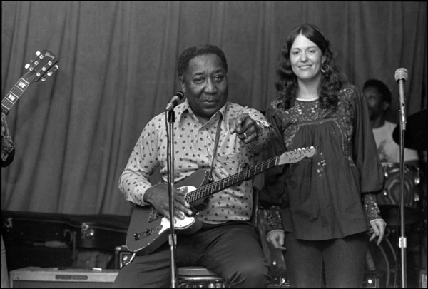 Muddy Waters & Angela Strehle