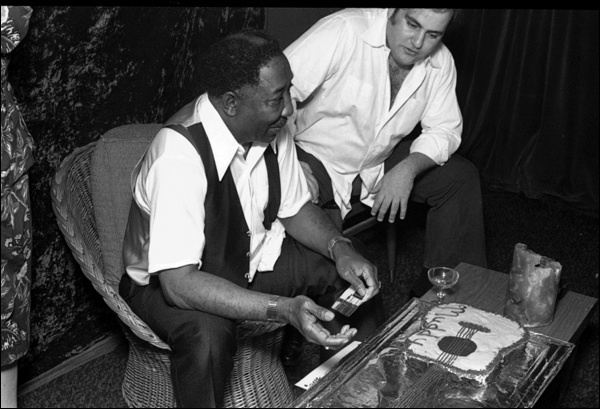 Muddy Waters & Clifford Antone