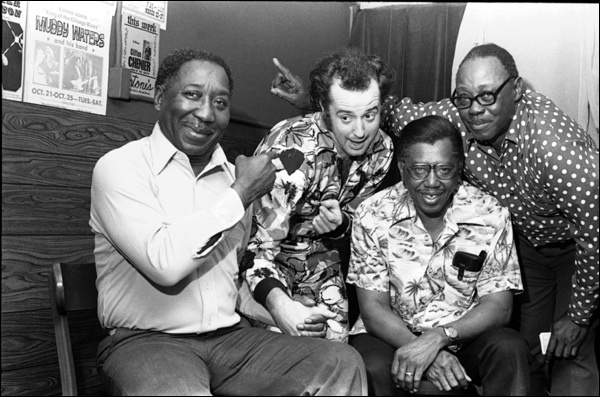 Muddy Waters, Kim Wilson, Calvin Jones and Pinetop Perkins