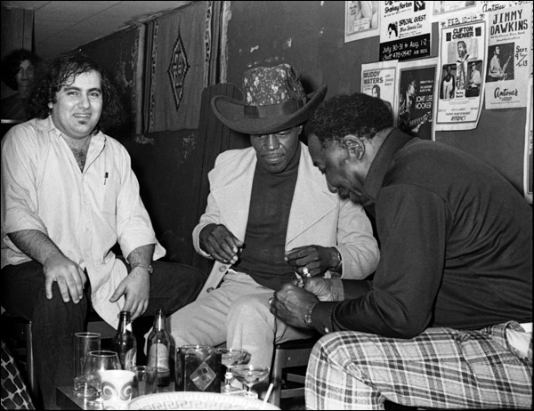 Clifford Antone, Junior Wells & Muddy Waters