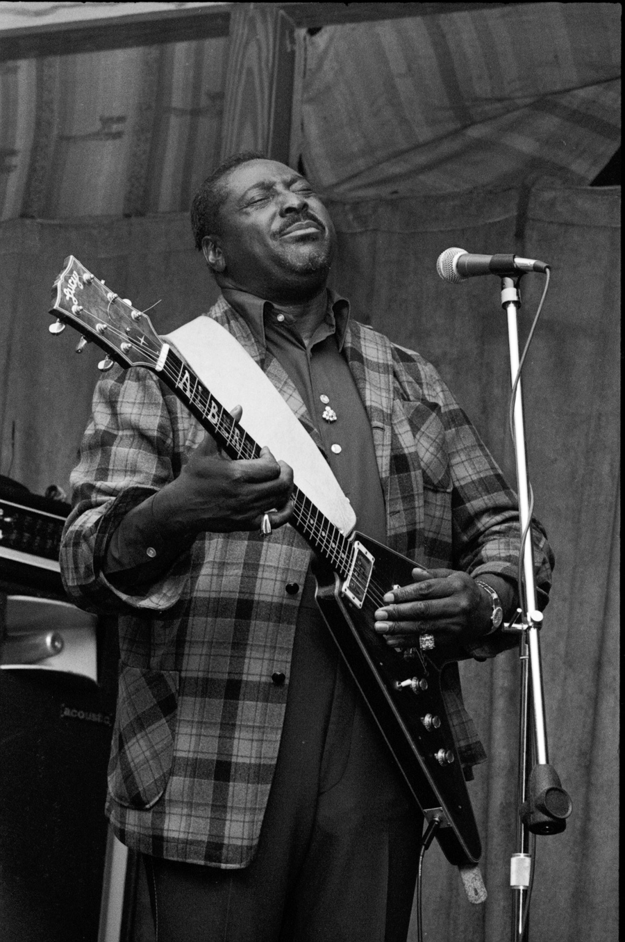 Albert King (Austin, TX).