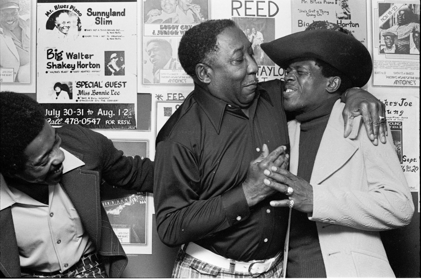 Buddy Guy, the Late Muddy Waters & the Late Jr. Wells (Muddy's B'day).