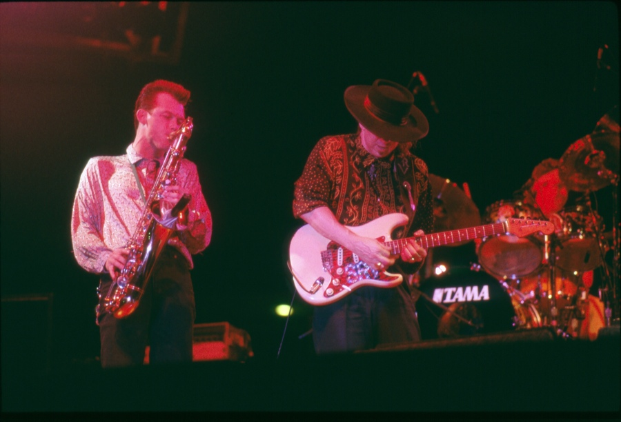 Johnny Reno & SRV - April 1990 (San Antonio, TX).